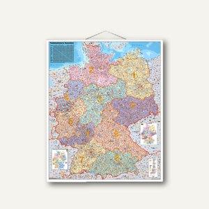 Artikelbild: Deutschland Postleitzahlenkarte