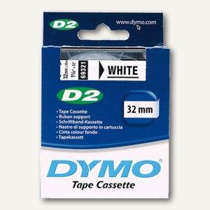 Dymo D2 Etikettenband, 24 mm x 10 m, weiß, S0721210