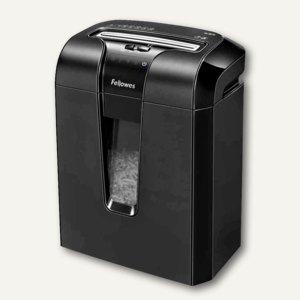 Fellowes Aktenvernichter 63Cb, Partikelschnitt 4 x 50 mm, schwarz, 4600101