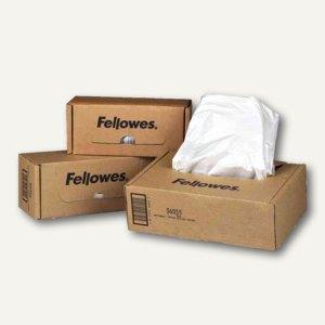 Fellowes Abfallbeutel für Aktenvernichter, 165 Liter, transparent, 50 St., 36055
