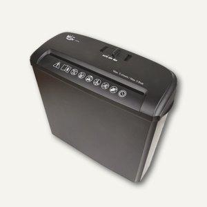 officio Aktenvernichter 05S, Streifenschnitt 7 mm, schwarz, 960162