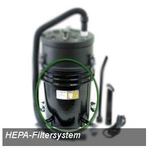 HEPA-Filtersystem für Tonerstaubsauger HCTV5, 18.9 Liter, 40187