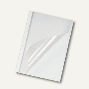 Thermobindemappen Standard weiß, Rückenbreite 1.5 mm, 240g/qm, 100 St., 916566