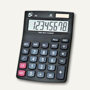 officio Tischrechner 208, 8-stellig, schwarz, 960115