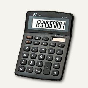 officio Tischrechner 310, 10-stellig, schwarz, 960107