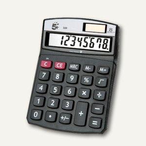officio Tischrechner 320, 8-stellig, schwarz, 960131