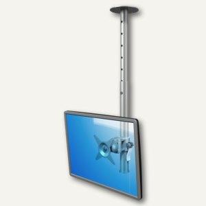Dataflex Viewmate Monitorarm, bis 15 kg, Deckenhalterung, silber, 52.562