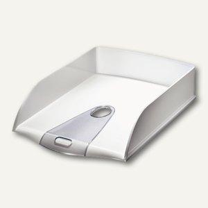 LEITZ Briefablage Allura, DIN A4, B264xT382xH71 mm, Polystyrol, weiß, 5200-00-01