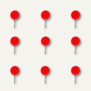 Alco Landkartennadeln, Kopf-Ø 10 mm, 10 mm lang, rot, 20 Stück, 1760-12