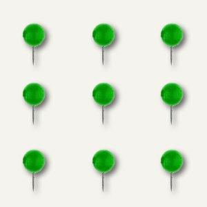 Alco Landkartennadeln, Kopf-Ø 10 mm, 10 mm lang, hellgrün, 20 Stück, 1760-17