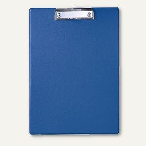 MAUL Schreibplatte / Klemmbrett mit Folienüberzug, DIN A4, blau, 2335237