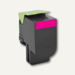 Lexmark Return-Tonerkartusche 802SM, magenta, ca. 2.000 Seiten, 80C2SM0
