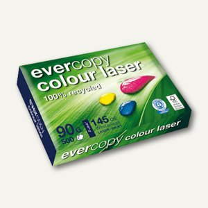 Laserpapier Evercopy Colour Laser, DIN A4, 90 g/m², 500 Blatt, 50014C