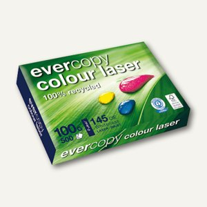 Laserpapier Evercopy Colour Laser, DIN A3, 100 g/m², 500 Blatt, 50024C