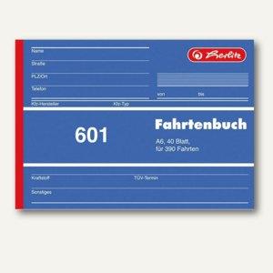 Formularbuch Fahrtenbuch 601