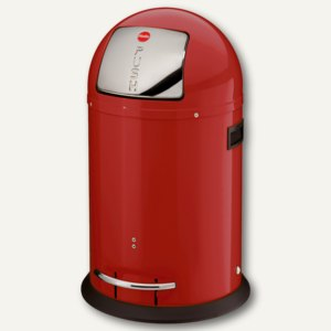 Hailo Tret-Abfallsammler KickMaxx 35, 35 Liter, rot, 0835-139