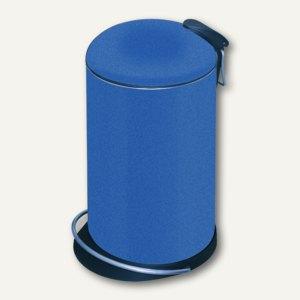 Hailo Tret-Abfalleimer TOPdesign 14, 14 Liter, blau, 0514-542