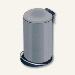 Hailo Tret-Abfallsammler TOPdesign 16, 16 Liter, platin, 0514-352