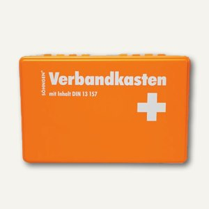 SÖHNGEN® Verbandkasten KIEL, DIN 13157, orange, 3003045