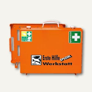 Erste-Hilfe-Koffer Spezial Werkstatt
