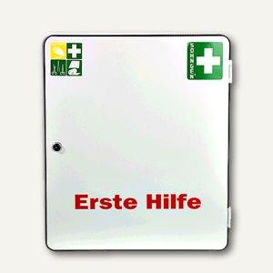 SÖHNGEN® Erste-Hilfe-Verbandschrank PARIS, DIN 13169, Stahlblech, weiß, 5001006