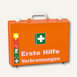 SÖHNGEN® Erste-Hilfe-Koffer Brandverletzungen, orange, 0301166