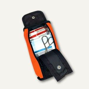 SÖHNGEN® Verbandtasche Reiseapotheke TRAVELLER, schwarz/orange, 0307023