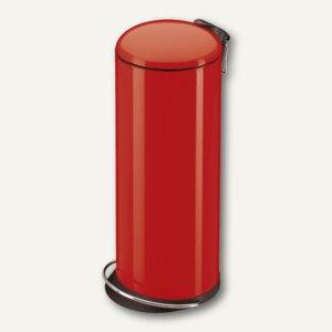 Hailo Tret-Abfallsammler TOPdesign 26, 26 Liter, Stahl, signalrot, 0523-919