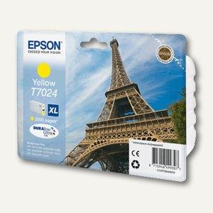 Epson Tintenpatrone T7024 XL, gelb, C13T70244010
