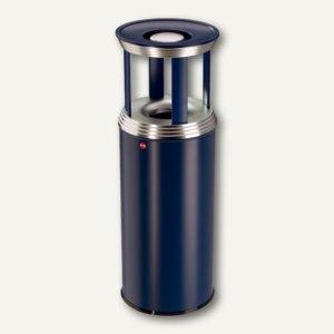 Hailo Ascher-Papierkorb-Kombination ProfiLine Combi Pro 50, blau, 0950-339