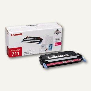 "Canon Lasertoner ""711M"", magenta, 1658B002"
