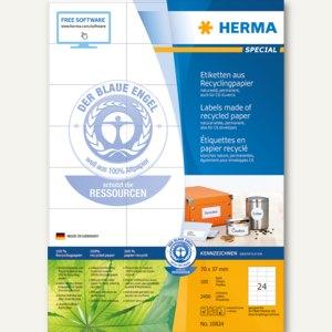 Artikelbild: Universal-Etiketten Recycling