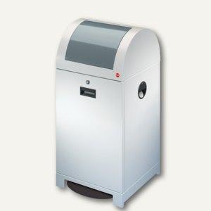 Wertstoffbehälter ProfiLine WSB 40P, 40l, Stahl, Eimer verzinkt, weiß, 0942-609