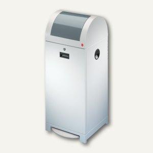 Hailo Wertstoffbehälter ProfiLine WSB 70P, 70l, Stahl, weiß, 0972-859