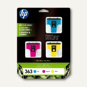 HP Tintenpatronen Nr. 363, Tricolor, CB333EE