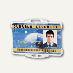 Durable Ausweishalter ohne Befestigung, 87 x 54 mm, offen, 10 Stück, 8918-19