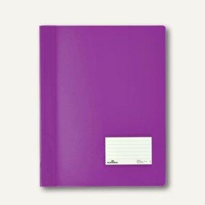 Durable Schnellhefter DURALUX A4+ 2680, transluzent-lila, 25 St., 2680-12