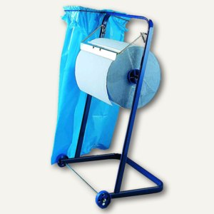Fripa Putzrollen-Standgerät, Metall, B750xT380xH920mm, blau, 2355000