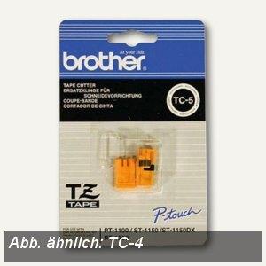 Brother Ersatzklinge für P-touch D200, TC-4