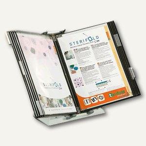 Tarifold Tischständer Sterifold, inkl. 10 DIN A4 Tafeln, antibakteriell, 434157