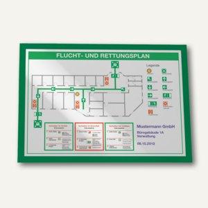 Durable Magnetrahmen DURAFRAME, DIN A3, selbstklebend, grün, 2 Stück, 4873-05