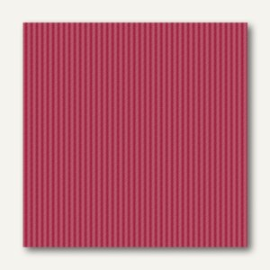 Papstar Servietten ROYAL Collection Delicate Line, 25x25cm,bordeaux,250St.,11572