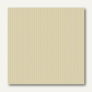 Servietten ROYAL Collection Delicate Line, 25x25cm,champagner,250St., 11574
