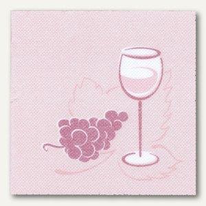 "Servietten ""ROYAL Collection Wein"", 25 x 25 cm, bordeaux, 300 Stück, 10673"