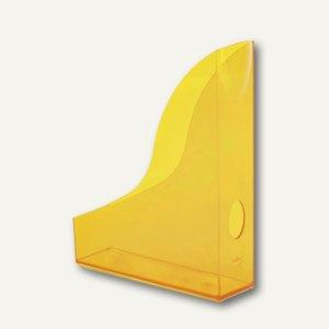 Stehsammler BASIC, A4, mit Griffloch, transluzent-orange, 6 St., 1701711009