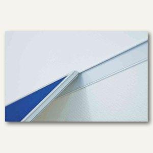 Franken Wandschienen-Set PRO, 1.500 x 60 mm, Magnethaftband, silber, WS8150