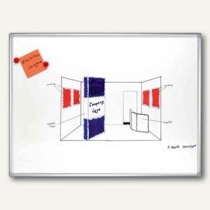 Franken Weißwandtafel PRO, emailliert, 1.000 x 750 mm, SC8208