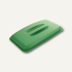 Durable Abfalldeckel DURABIN Lid 60, mit Griffmulde, grün, 1800497020