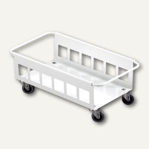 Durable Fahrwagen DURABIN TROLLEY 60, Metall, weiß, 1801666010
