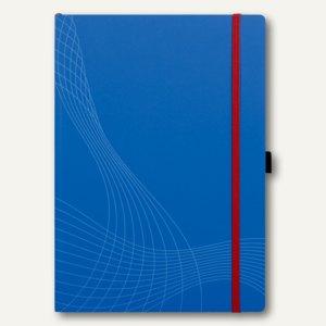 """Zweckform Notizbuch """"Notizio"""", DIN A4, kariert, Softcover, blau, 80 Blatt, 7045"""